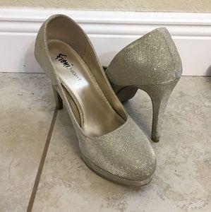 Champagne brash heels